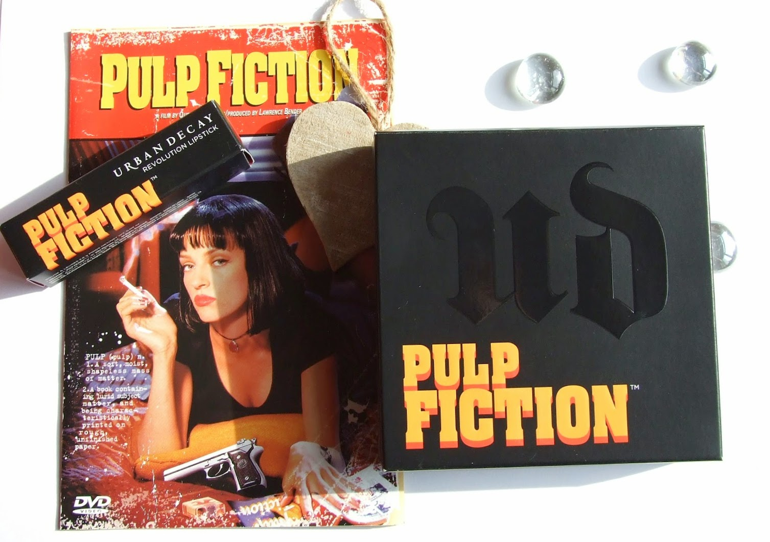 Urban decay pulp fiction collection revolution lipstick swatches mrs mia wallace palette