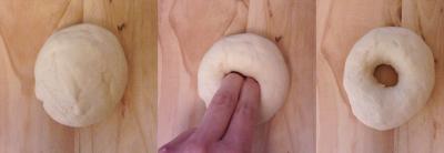 procedimento ricetta  bagel