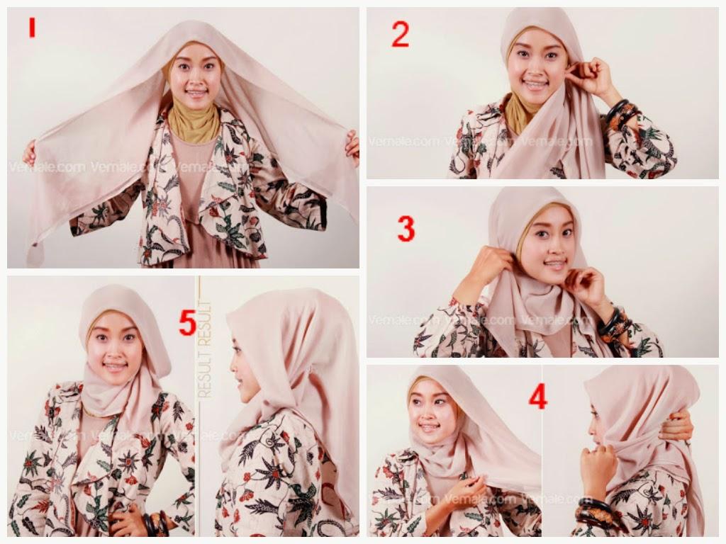 Cara Memakai Jilbab Paris Modern Trend 2017 JALLOSI