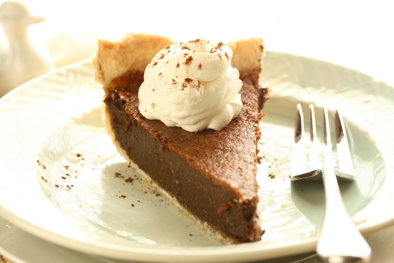 No. 41 Chocolate Chess Pie - Saving Room for Dessert