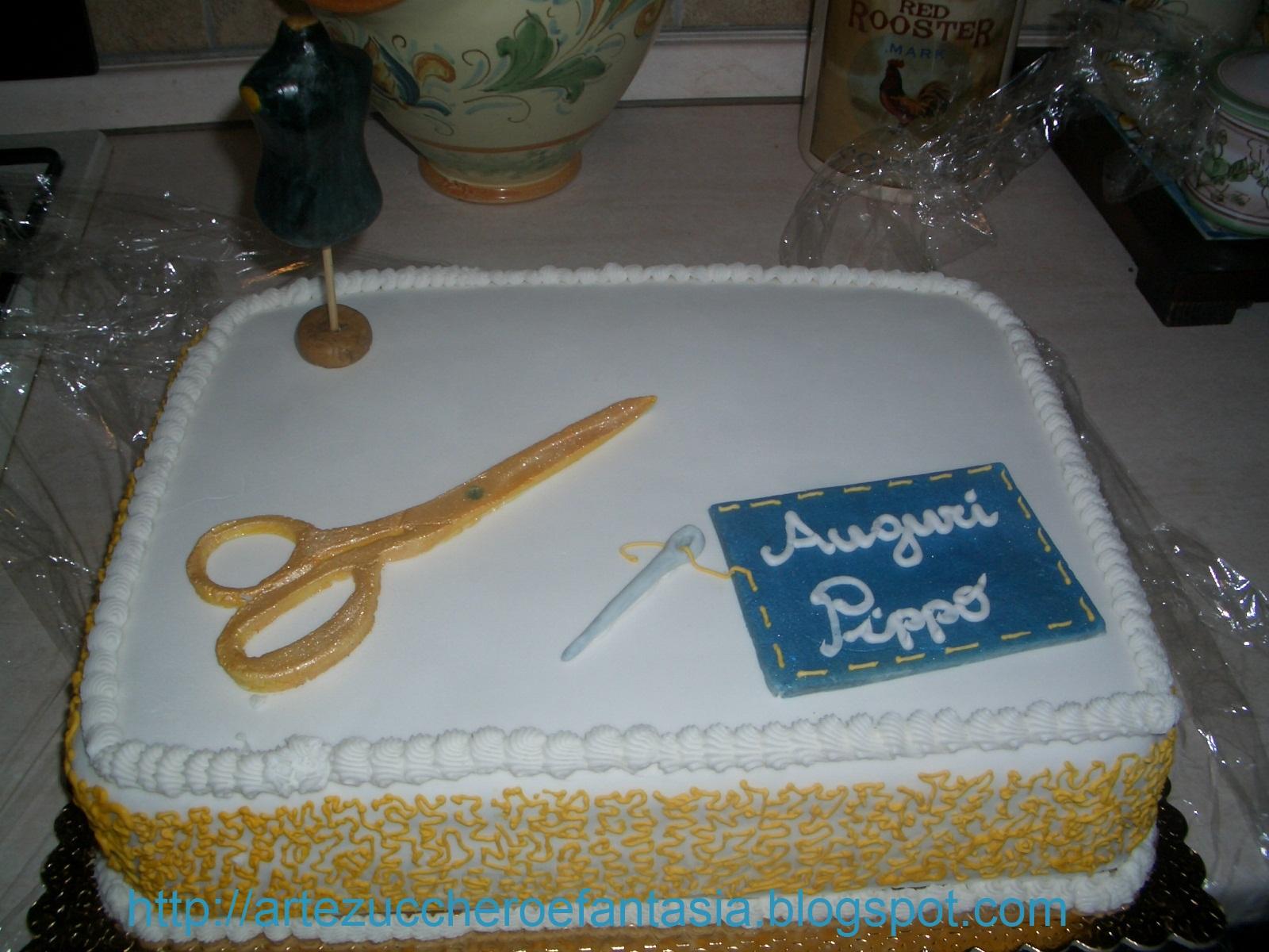 Favoloso Arte, zucchero e fantasia: Buon compleanno Nonno.torta vita da  OI36