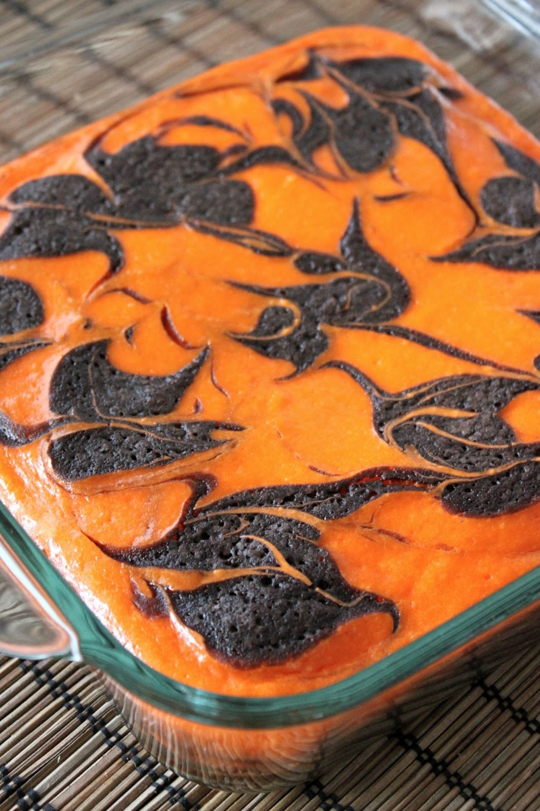 Baked Perfection: Cream Cheese Swirl Halloween Brownies and we ...