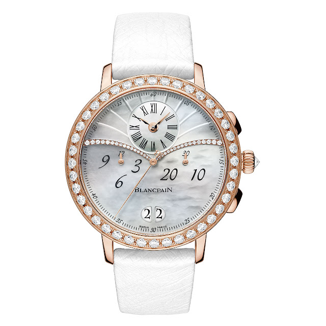 Blancpain Collection Women, Chronographe Grande Date Watch dial