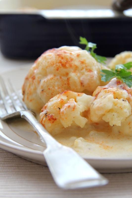 Cauliflower Cheese czyli kalafior zapiekany z serem