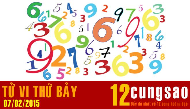 Tử vi Thứ Bảy 7/2/2015 - 12 Thần Số hàng ngày
