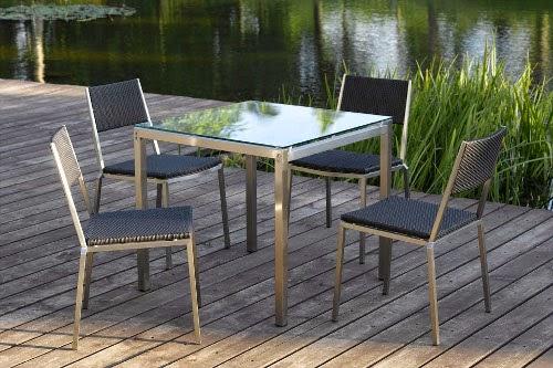 stainless steel patio furniture set vigo dining set designs
