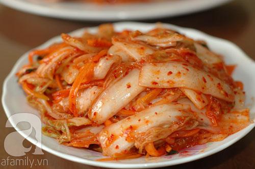 kim chi Hàn Quốc thơm ngon