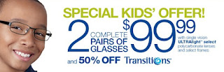 sears optical kids coupons