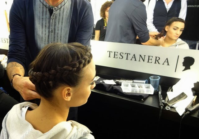 X Factor 2013 Italia terza puntata backstage Testanera Valentina