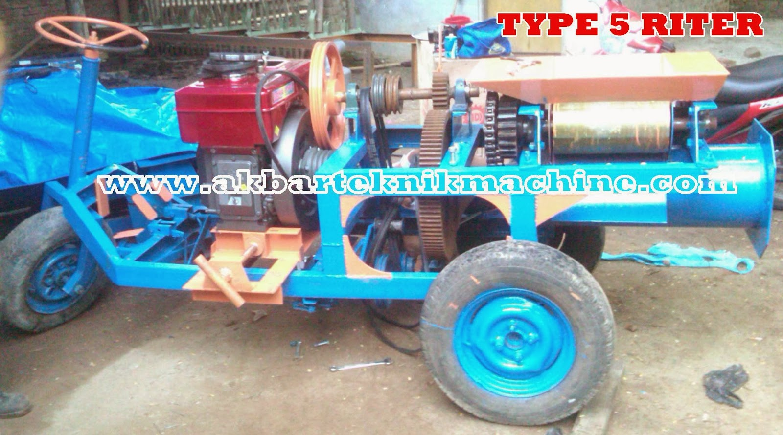 MESIN TYPE 5 RITER