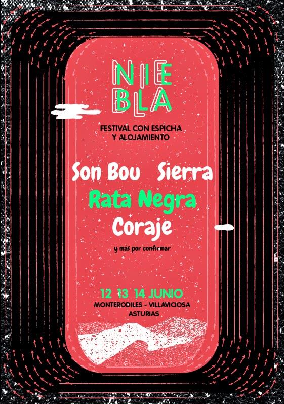 Festival Niebla cartel