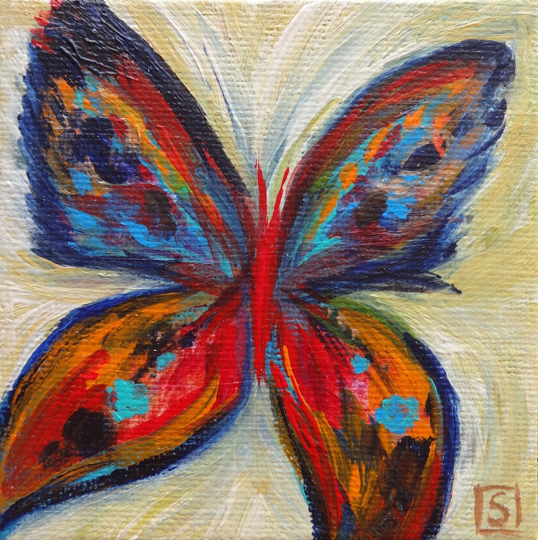 Famous butterfly paintings - photo#2