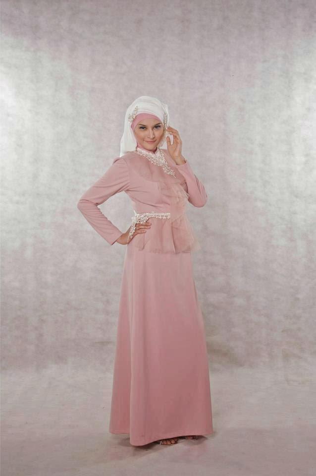 Trend Model Baju Muslim Wanita Gamis untuk ke pesta