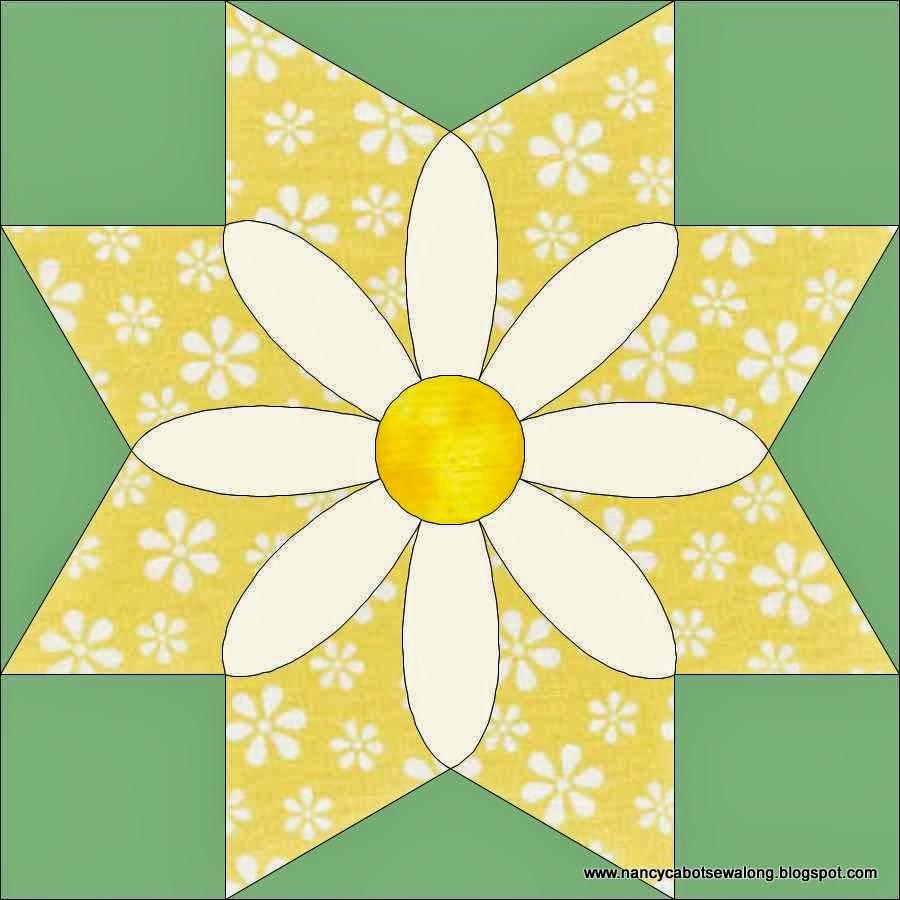 Moore About Nancy: Missouri Daisy quilt block : daisy quilts - Adamdwight.com