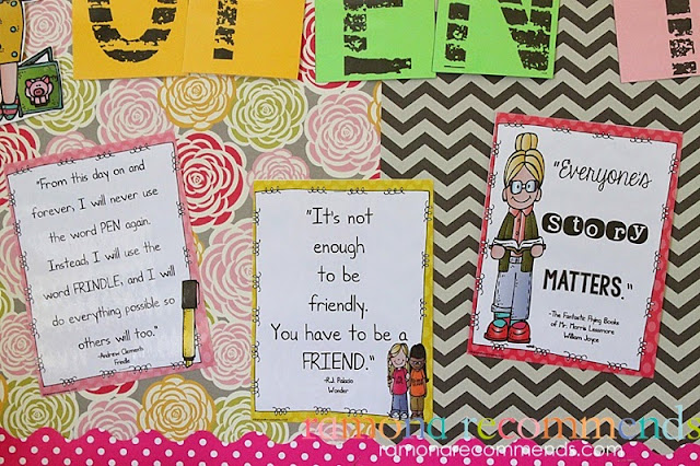 https://www.teacherspayteachers.com/Product/Classroom-or-Home-Library-Labels-and-Quotes-1366348