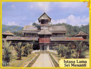 istana seri menanti Located deep in the heartlands of the minangkabau of malaysia, the istana lama seri menanti is a palace formerly used as the official residence of his majesty the.
