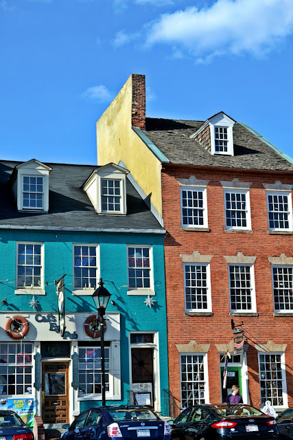 Baltimore, bay, building, color, spring, old architecture, bricks, downtown