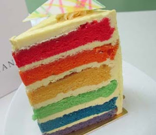 Resep Rainbow Cake Enak
