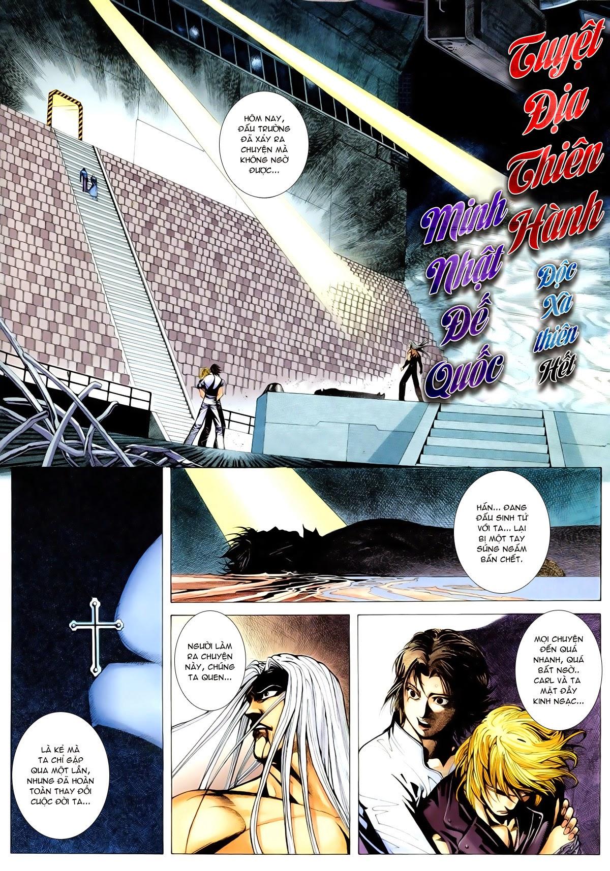 Tuyệt Địa Thiên Hành Chap 8 - Next Chap 9