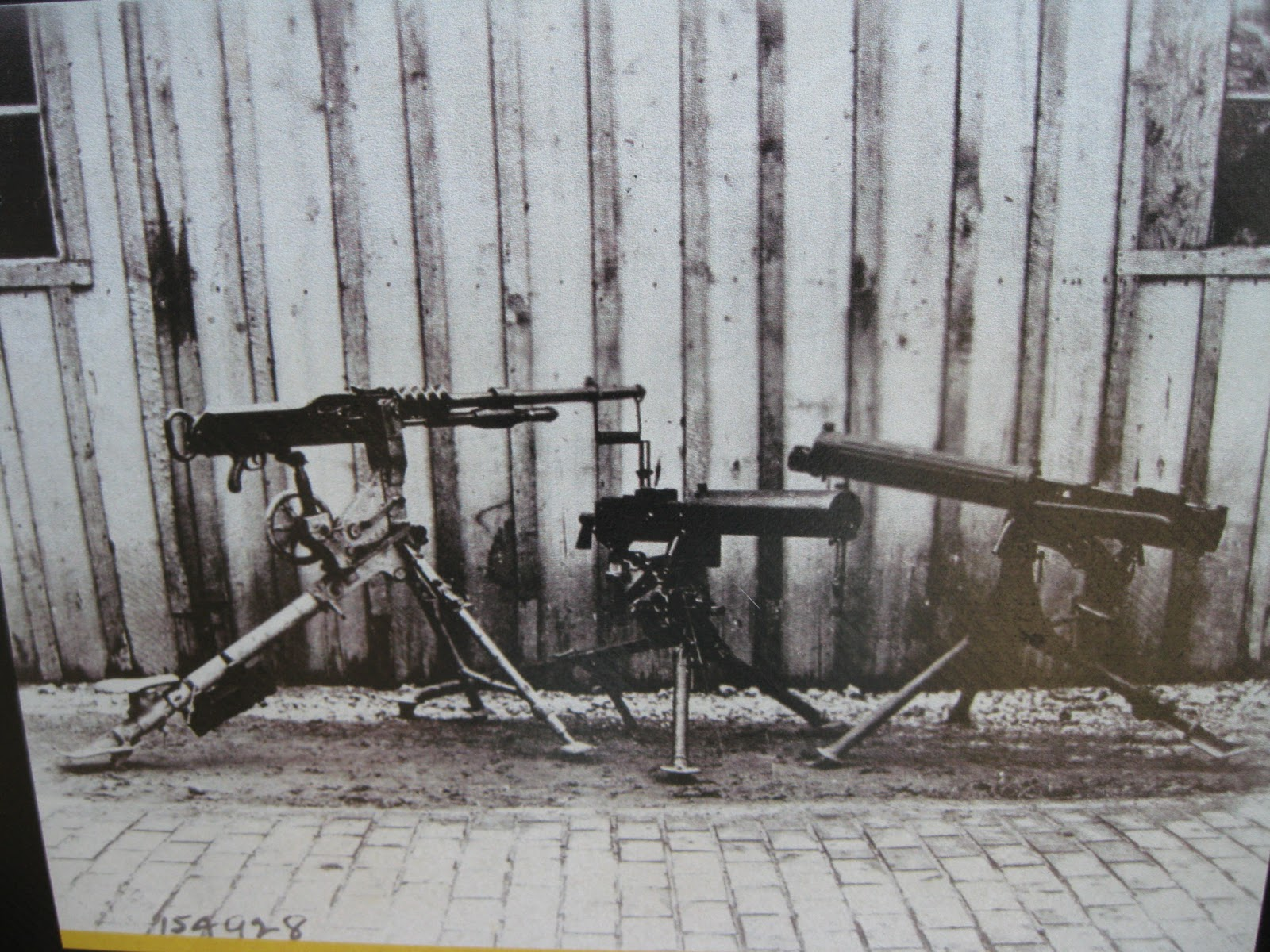 machine guns in ww1 impact