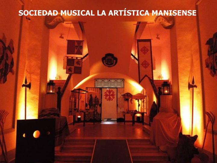 10.10.15 CONCIERTO DE LA SOCIEDAD MUSICAL LA ARTÍSTICA MANISENSE
