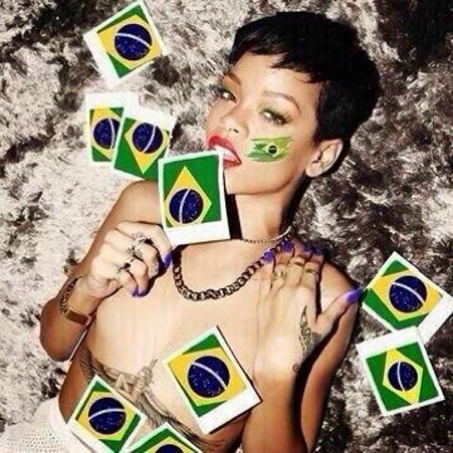 Rihanna ama Brasil