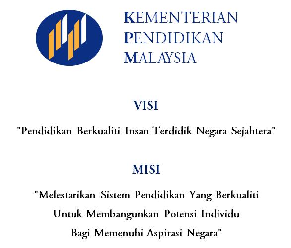 upi ppd serian visi dan misi kementerian pendidikan malaysia