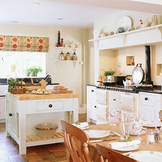 Open Plan Country Kitchen: The Little White House On The Seaside: Floor Me Once