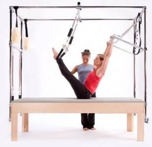 Pilates postura correta