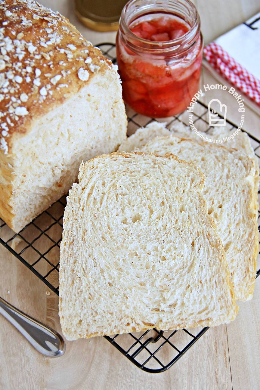 Wholemeal Honey and Yoghurt Bread
