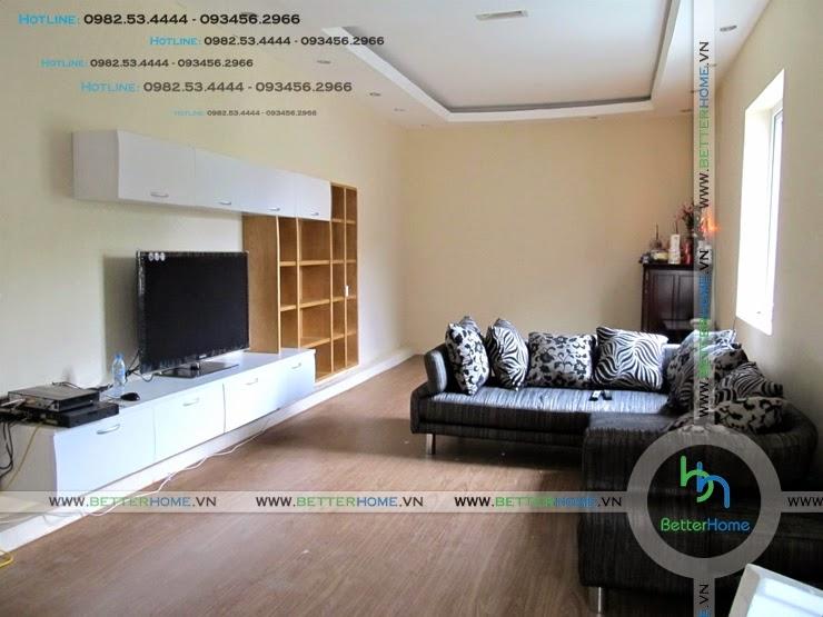 Thiết kế phòng khách chung cư Mandarin Garden