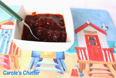 Plum chutney by Carole's Chatter