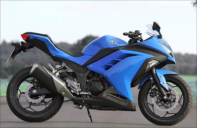 Quais são as novidades nova Kawasaki Ninja 2014