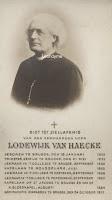 Kanunnik Lodewijk Van Haecke 1829-1912