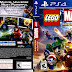 Capa LEGO Marvel Super Heroes PS4