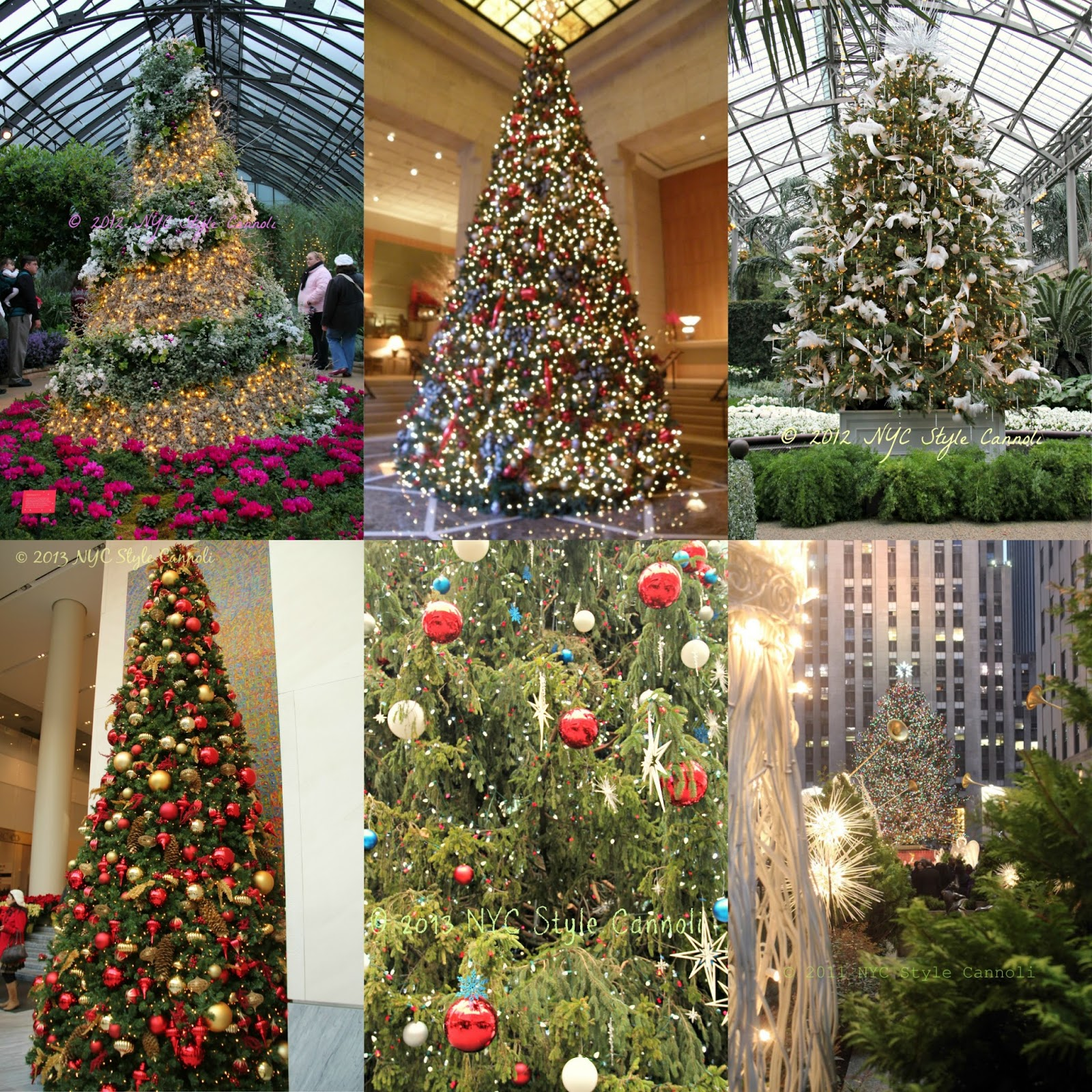 The 10 Best Christmas Trees in NYC | NYC, Style & a little Cannoli