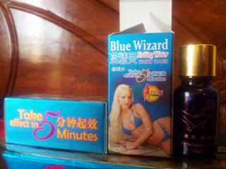 Perangsang Wanita Blue Wizard
