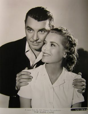 George Brent and Brenda Joyce
