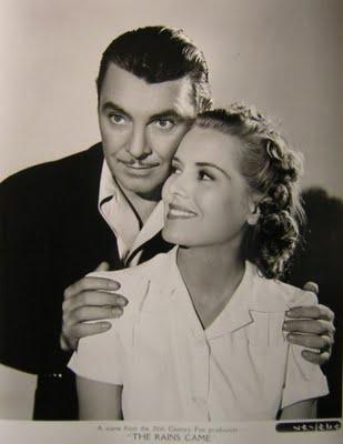 George Brent and Brenda Joyce