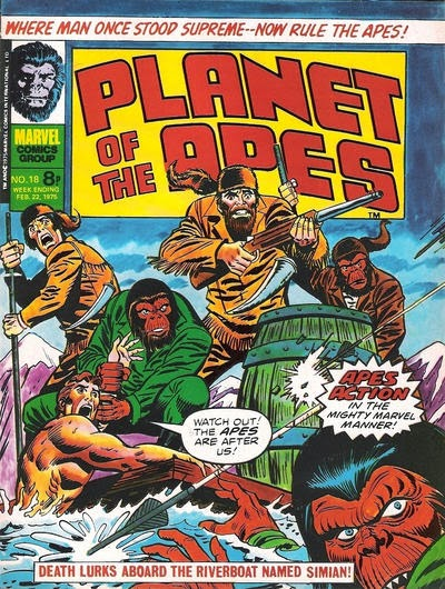 Marvel UK, Planet of the Apes #18