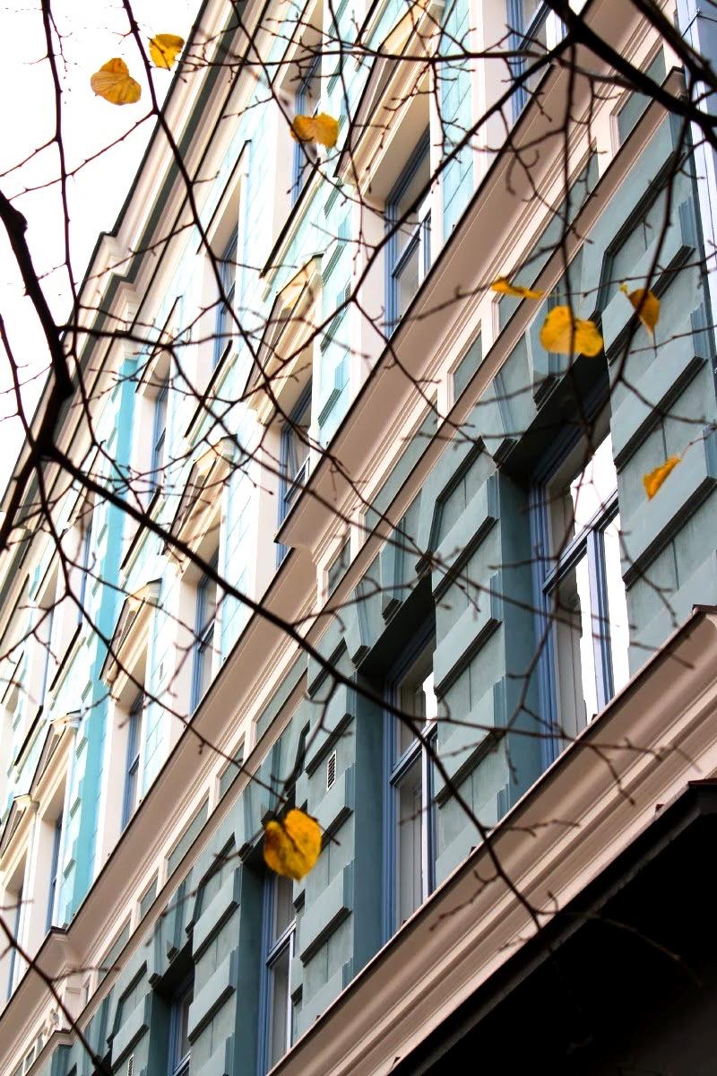 Vanha kivitalo Helsingissä