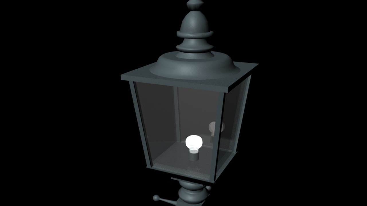 Maya : Street Lamp Process . | 3D Modelling . for street lamp texture  284dqh