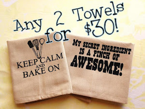 For you out of towners, find my dish towels online!