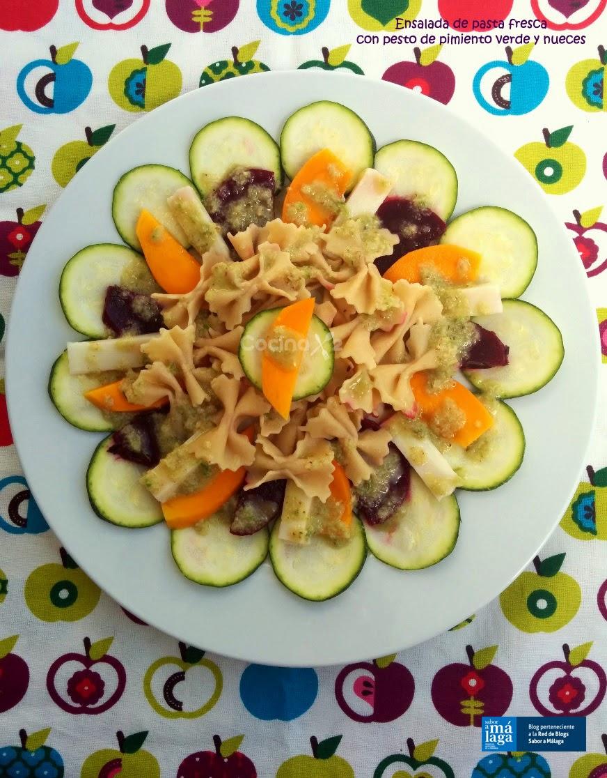 Cocinax2 las recetas de laurita ensalada de pasta - Ensalada fresca de pasta ...