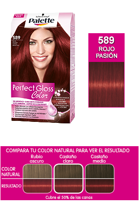 Schwarzkopf Palette Perfect Gloss Color