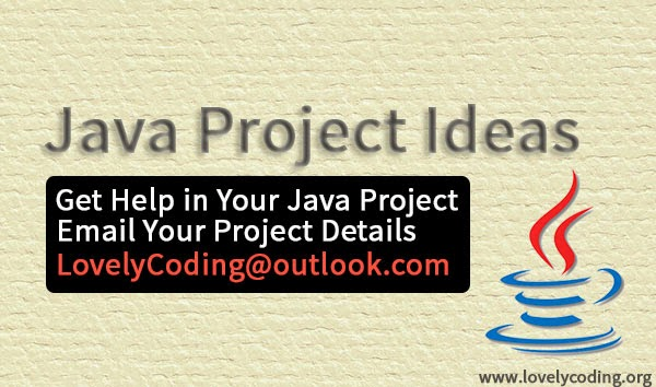 Java Project Ideas For 2014