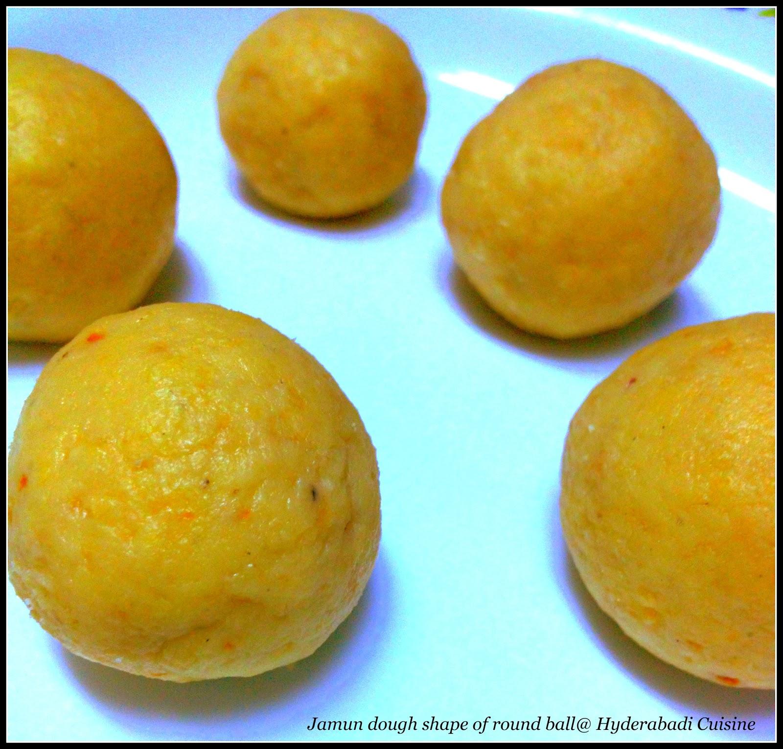 Hyderabadi Cuisine: Gulab Jamun ( Fried Doughnuts with cardamom ...