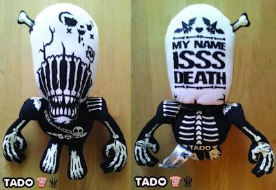 2000 AD x Unbox Studios Judge Death Plush Figure by TADO