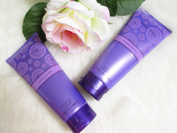 Review: Mary Kay Forever Orchid - Shower Gel & Bodylotion je 192ml - je 20.00 Euro