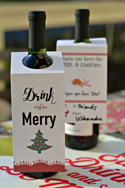 2 free printable wine bottle tags